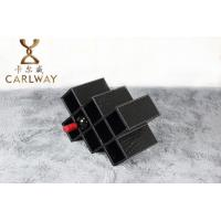 High-grade leather eight stone red wine rack
