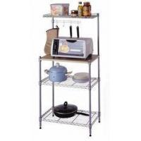 Grocery Store White Metal Display Racks / Wire Mesh Display Stand Replaced Hooks And Hangers Manufactures