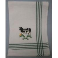 Wholesale Embroidered Cow Tea Towel from china suppliers