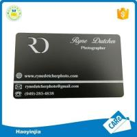 Wholesale Top Quality Brass Blank Metal Cards from china suppliers