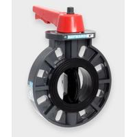 """2"""" BYB/EPDM Liner and Seals - PVDF Body PVDF Disc - Lever Manufactures"""