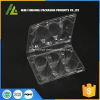 Buy cheap clamshell packaging plastic quail egg carton from wholesalers