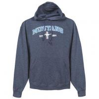 China OFFICIALLY LICENSED FORD MUSTANG TRIBAR LOGO HOODED SWEATSHIRT on sale