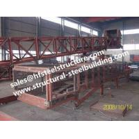 Buy cheap SGS Industrial Steel Buildings For Towers Chutes Conveyor Frame / Material Handling Equipment from wholesalers