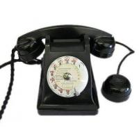 Wholesale Culture French Black Bakelite Phone from china suppliers