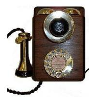Buy cheap Culture Wood and Brass Wall Phone from wholesalers
