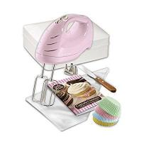 Hamilton Beach 62666 Cupcake Creations Hand Mixer with Decorating Kit and Storage Case Manufactures