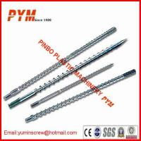 Wholesale 38CrMoAIA Single and Twin Plastic Screw and Barrel for Extruder Machine from china suppliers