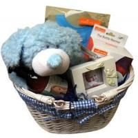 Buy cheap Gift Baskets Lrg Gingham Baby Boy from wholesalers