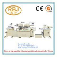 Buy cheap Paper High Speed Die Cutting Machine with Hot Foil Stamping from wholesalers