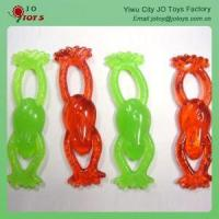 Wholesale Cheapest Sticky Slingshot Frog Plastic Empty Vending Capsules Toy from china suppliers