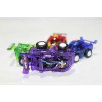 Buy cheap Colorful Transparent Baby Pull Back Car Toy Capsule Toy from wholesalers