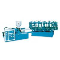 Buy cheap Disc type semi auto rubber / even help sole injection machine from wholesalers