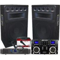 Buy cheap 1600 Watt 12 Powered Speaker DJ System - Connect your Laptop or iPod. from wholesalers