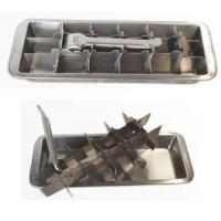 Buy cheap Onyx Stainless Steel Ice Cube Tray from wholesalers