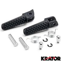 Buy cheap Black Front Foot Rest Pegs Footrests for Honda CBR 600RR / CBR 1000RR / CB1000R from wholesalers