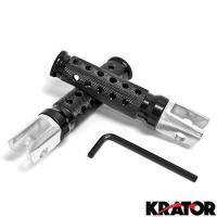 Buy cheap Honda Motorcycle Black Front Foot Pegs - CBR 600RR, 900RR, 1000RR, F4i and More! (1987-2009) from wholesalers