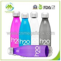 Buy cheap 25OZ-750ml Plastic Water Bottle&Cola Shape Sports Bottle With Sliver Lid from wholesalers