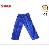 Chinese factory supplier OEM service workwear trousers navy blue cargo wprk pants