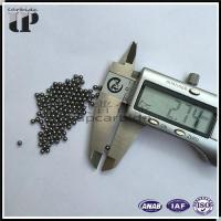 Buy cheap Factory supply YG6/K10 dia.2.7mm grinding and polished tungsten carbide ball bearing from wholesalers