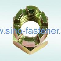 Buy cheap Fasteners HEXAGON SLOTTED NUTS DIN 935 from wholesalers