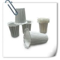 Buy cheap Keurig Coffee Filter Paper Cup Disposable White Bulk K-cup Food Grade Cup Shape from wholesalers