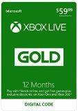 Xbox Live 12 Month Gold Membership - Digital Code Manufactures