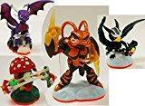 Buy cheap 4 x NEW Skylanders Giants Figures SWARM Shroomboom CYNDER Sonic Boom swap force from wholesalers