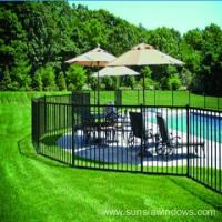 Buy cheap Aluminium Swimming Pool Safety Fence from wholesalers