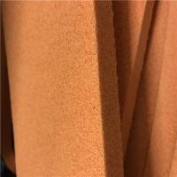 Vulcanized Orange Open Cell Latex Natural Sponge Foam Rubber Sheet For Cleaning Manufactures