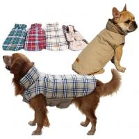 Buy cheap Reversibility British style dog winter coat Item No.: DWI-0112 from wholesalers