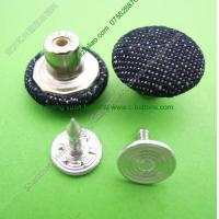 Buy cheap fabric cover jeans,cloth jeans button from wholesalers
