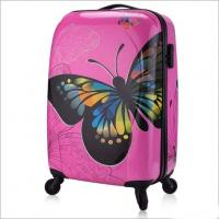 Buy cheap Personalized Butterfly PC Luggage Suitcase from wholesalers