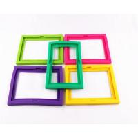 Wholesale High quality fashion colorful silicone photo frame from china suppliers