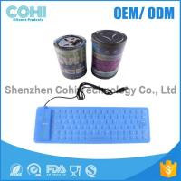 Buy cheap Colorful Silicone foldable waterproof flexible 109 Keyboard product