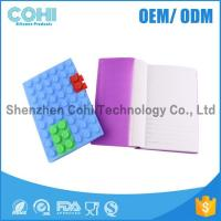 Buy cheap custom silicone A6 DIY Blocks protective notebook cover product