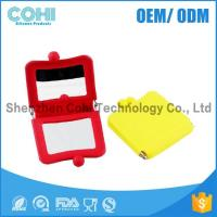 Wholesale Candy colorful Eco-friendly silicone square mirror from china suppliers