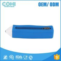 Buy cheap Silicone customized pencil cases,2B&HB pencil shape pencil box from wholesalers