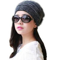 Buy cheap Knitted Womens Hats Adult Women Casual Solid Skullies Beanies Winter Hat Bandana Cap from wholesalers