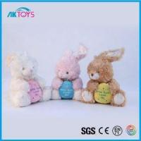 China Easter Rabbit Plush Toy Hot Forwholesale, Soft Toy And Stuffed Toy For Easter Day on sale