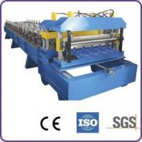 Buy cheap High Speed Steel Tile Roll Forming Machine 18 Stations for Factory product