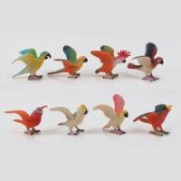 Buy cheap High Quality 3D Miniature Plastic Cartoon Bird Animal Toy Figurines from wholesalers