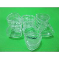 Elufly 4 Gram Plastic Heart Shape Pot Jars Cosmetic Containers Pack of 12 Manufactures