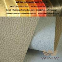 Buy cheap Best Faux PU Leather Upholstery Fabric Material from wholesalers