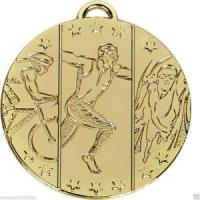 Buy cheap High Quality Triathlon Souvenir Bronze Medal With Ribbon/ Commemorative Medal from wholesalers