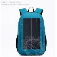 Buy cheap Backpack Solar Panel In China Backpack With Solar Panels From Voltaic Systems For Sale from wholesalers