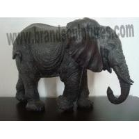 Buy cheap Good Design Fiberglass Elephant Lawn Statues as Ornaments from wholesalers