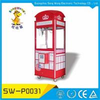 Buy cheap England Hot Sale Arcade Coin Operated Wood Cabinet Telephone Toy Story Plush Crane Game from wholesalers