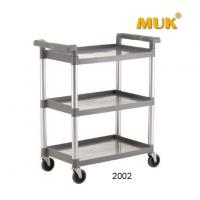 MUK Hot Sale Hotel Reataurant Kitchen Cleaning Hand Trolley Collecting Car Manufactures