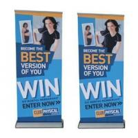 Buy cheap Roll Up Stand Retractable Banner Stand Pull Up Baner Rull Up Banner Roll Up Display from wholesalers